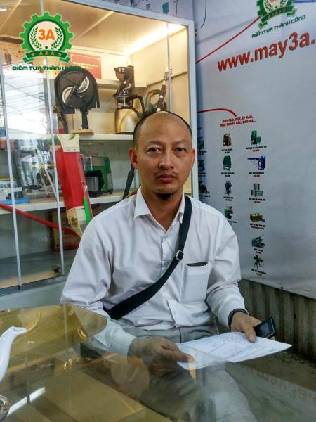 Anh Nguyễn Văn Đinh - Khách hàng mua dây thông tắc cống 3A