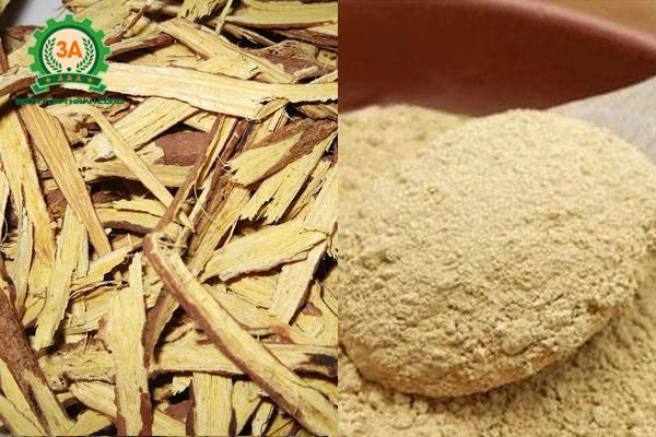 Thuốc bắc trước và sau khi nghiền thành bột