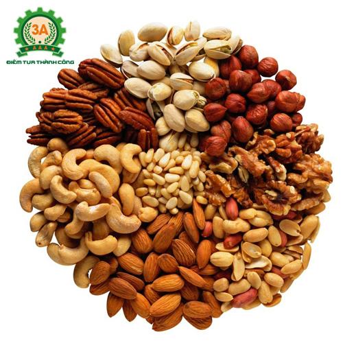 Các loại hạt ngũ cốc máy có thể rang chín bằng máy rang hạt 3A900W