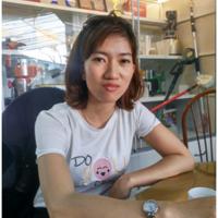 Hình ảnh chị Kim Huệ - khách hàng mua máy rang hạt 3A900W