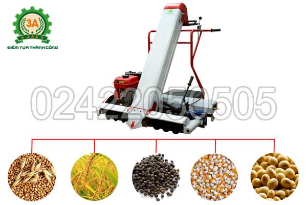 Máy hút thóc đóng bao 3A thu được đa dạng các loại hạt