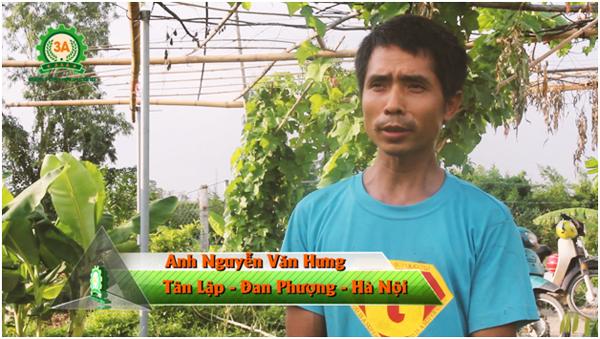 Anh Nguyễn Văn Hưng đã sử dụng Máy băm nghiền thức ăn chăn nuôi 3A2,2Kw và máy ép cám viên trục đứng 3A3Kw hơn 1 năm nay