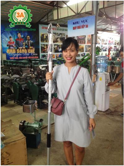 Bán kéo cắt cành 3A3M tại Hà Nội cho chị Vũ Thu Phương
