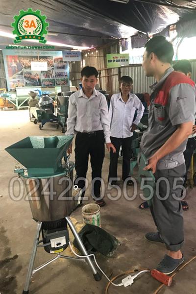 Bán máy băm nghiền đa năng cho khách hàng Điện Biên