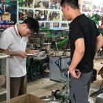 Cung cấp máy băm sả, ớt, hành, tỏi cho anh Quân ở Nguyễn Chí Thanh, Hà Nội