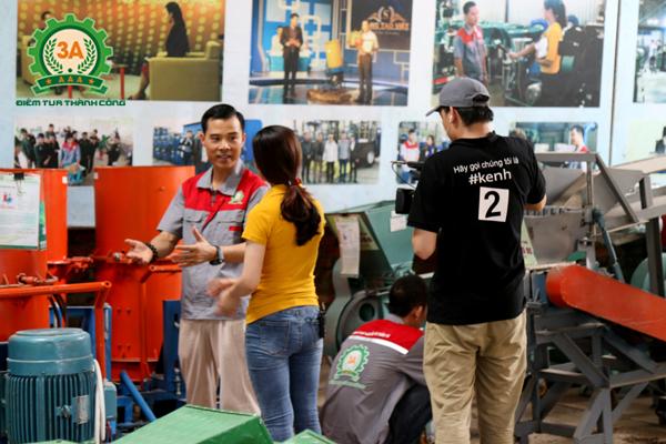 Nhà sáng chế Nguyễn Hải Châu cùng đồng hành trong chương trình nông dân khởi nghiệp trên kênh VTC2 (2)