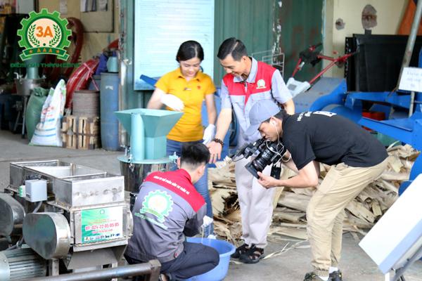 hà sáng chế Nguyễn Hải Châu cùng đồng hành trong chương trình nông dân khởi nghiệp trên kênh VTC2 (9)