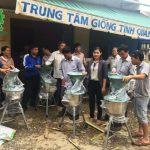 Chuyển giao máy chế biến thức ăn chăn nuôi 3A tại huyện Sơn Tịnh – Quảng Ngãi