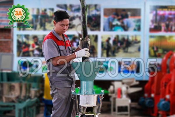 Tính năng nghiền nát nhuyễn của máy chế biến thức ăn chăn nuôi 3A2,2Kw
