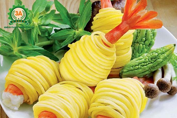 Dụng cụ thái sợi rau củ quả 3A giúp bạn sáng tạo các món ăn ngon