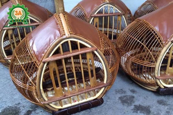 Cách nuôi chim cu gáy non - Nên nuôi chim cu gáy trong các lồng đơn