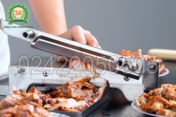 Dụng cụ thái thịt đông lạnh 3A thái thực phẩm chín
