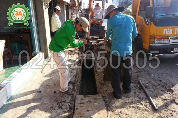 Đường ống bị tắc cần sử dụng ngay máy thông cống lò xo 3AGQ1200