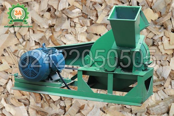 Hình ảnh Máy băm gỗ 3A11Kw
