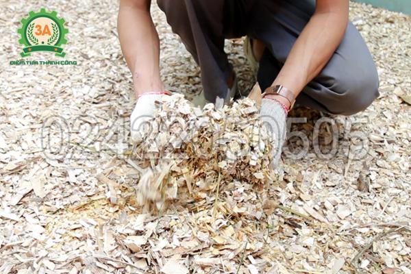 Sản phẩm dăm gỗ của máy băm gỗ 3A11Kw