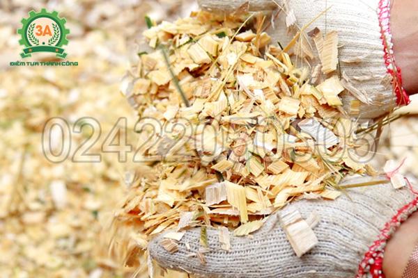 Sản phẩm dăm tre của máy băm gỗ 3A11Kw