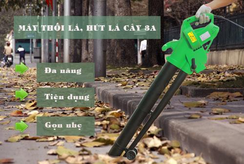 Máy thổi lá, hút lá cây 3A