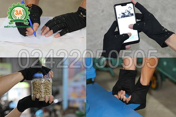 Găng tay bảo vệ 3A tạo sự thoải mái khi hoạt động