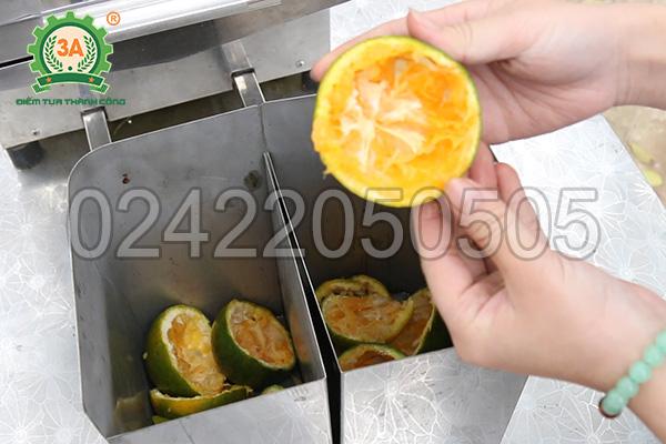 Thùng đựng vỏ và hạt của máy vắt nước cam 3A