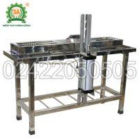 Dây chuyền sản xuất đậu phụ 3A: Hệ thống bàn ép đậu bằng xi lanh khí