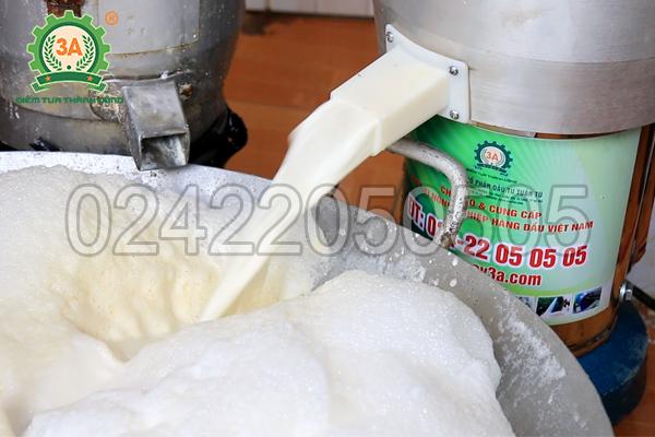 Máy xay sữa đậu 3A có khả năng xay kiệt hoàn toàn