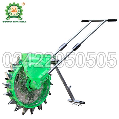 Dụng cụ gieo hạt lắp đặt bộ phận lấp đất