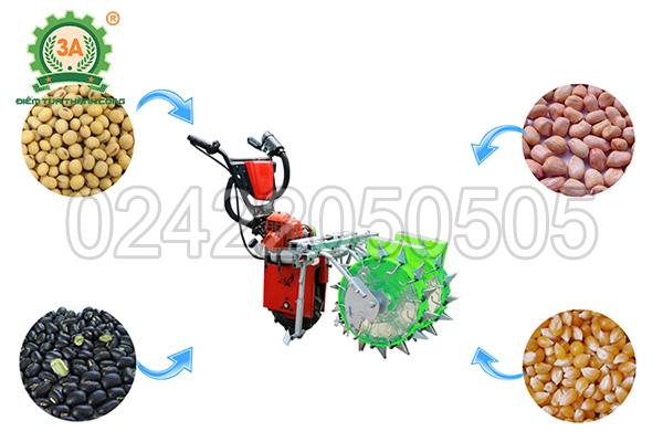 Máy gieo hạt đa năng 3A gieo đa dạng các loại hạt với năng suất cao