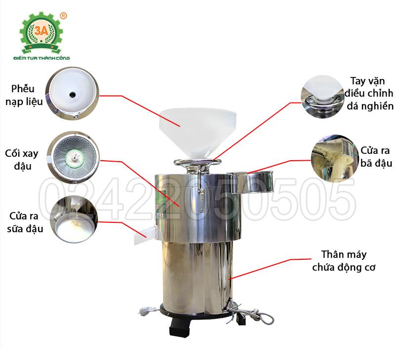 Máy  làm sữa đậu nành 3A2,2Kw (13)
