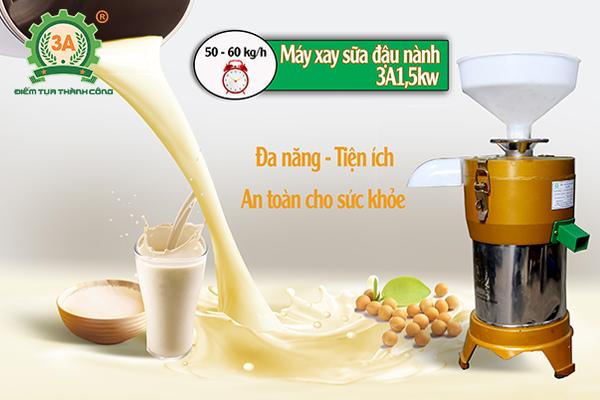 Máy xay sữa đậu nành 3A1,5Kw (04)