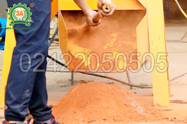 Cát nhân tạo nghiền bởi máy nghiền đá thành cát 3A37Kw