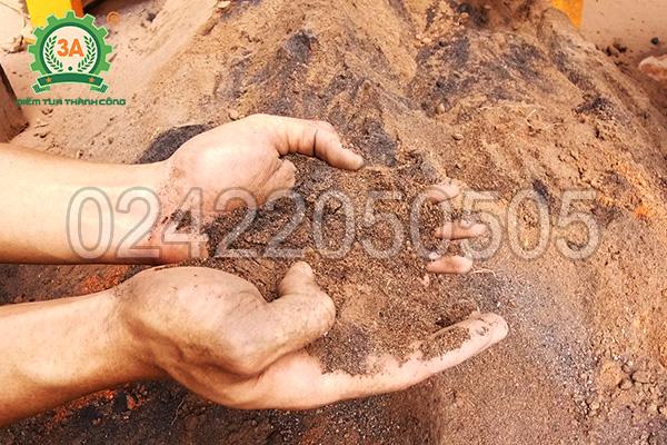 Sản phẩm đầu ra của máy nghiền đá thành cát 3A37Kw