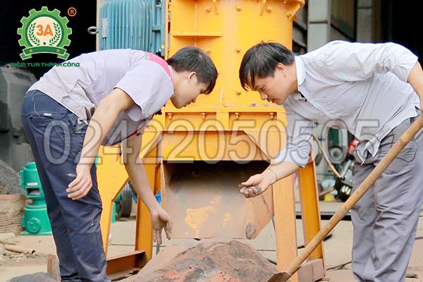 Máy nghiền đá thành cát 3A37Kw có năng suất cao