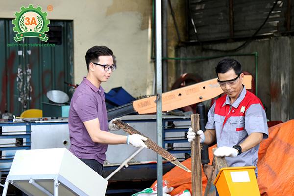 Máy băm gỗ 3A giúp các cơ sở chế biến gỗ tăng thu nhập hiệu quả từ gỗ thải
