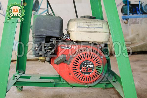 Máy băm cỏ đa năng 3A6,5Hp sử dụng động cơ đầu nổ