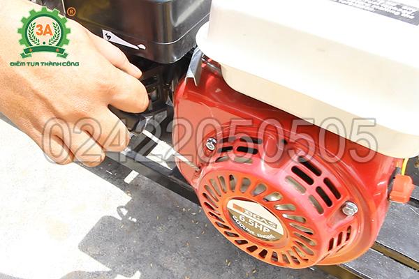 Kéo giật dây gas của máy hút lúa vào bao 3A6,5Hp