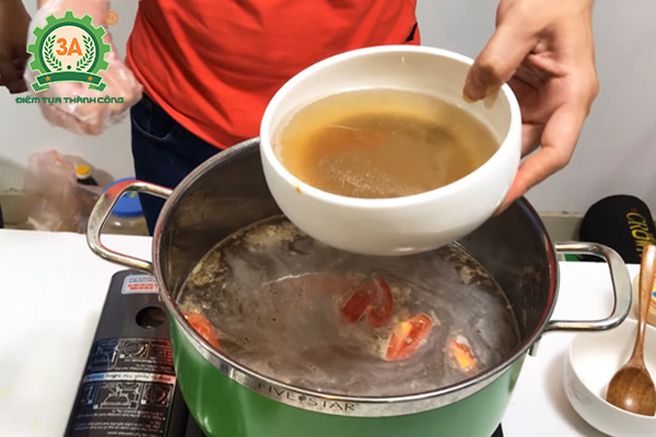 cách nấu bún riêu cua miền bắc (09)