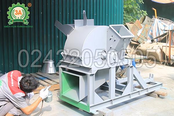 Máy băm gỗ 3A55Kw được chế tạo bởi Công ty CPĐT Tuấn Tú