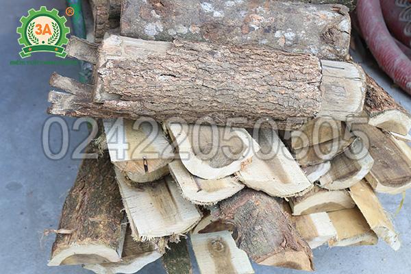 Nguyên liệu đầu vào của máy băm gỗ 3A55Kw