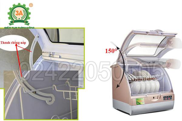 Máy rửa bát gia đình 3A1200W có phần cửa thiết kế thông minh