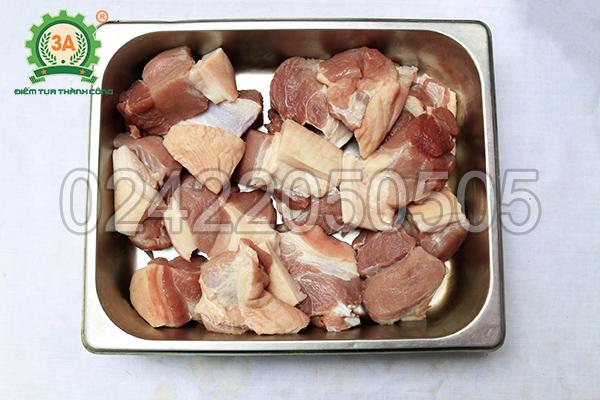 Nguyên liệu đầu vào của Máy thái thịt tự động 3A850W