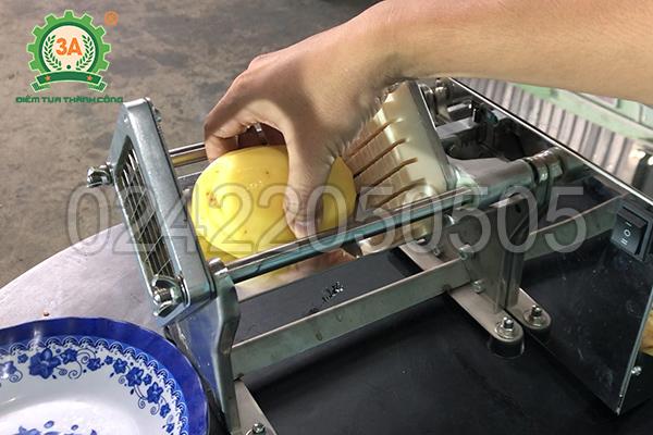 Máy cắt khoai tây sợi dài 3A60W (12)