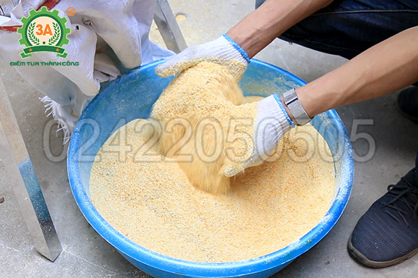 Máy băm chuối, nghiền ngô 3A1,5Kw (15)