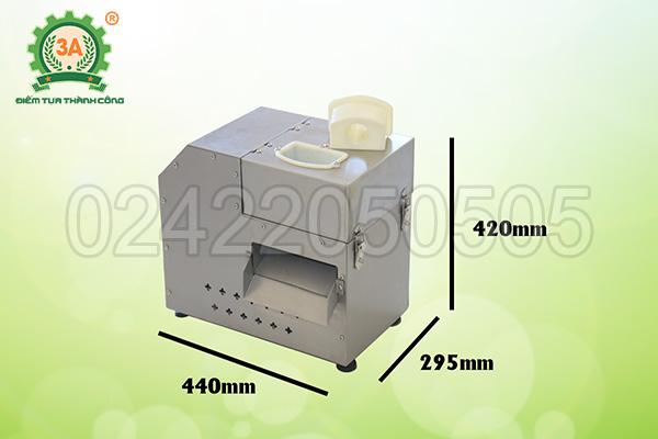 Máy cắt rau củ hạt lựu 3A550W (09)