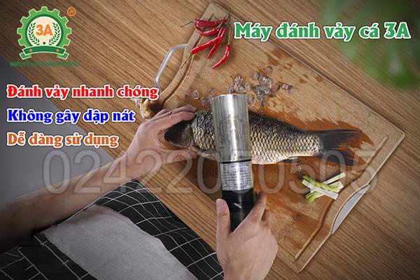 Máy đánh vảy cá cầm tay 3A96W (06)