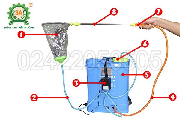 Máy phun thuốc trừ sâu 3A  (15)