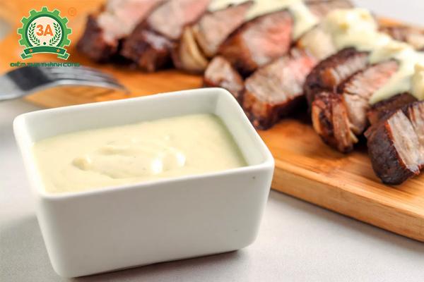 Cách làm nước sốt bò bít tết: Sốt Blue cheese sauce