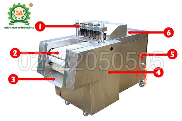 Máy thái thịt công nghiệp 3A4Kw (13)