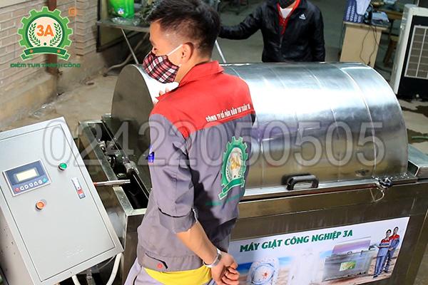Máy giặt công nghiệp 3A1,5Kw (09)