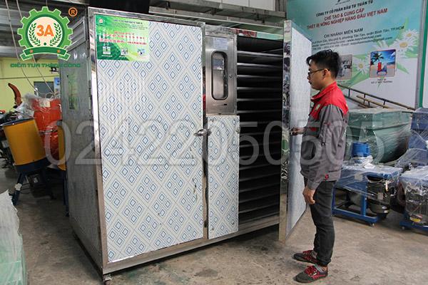 chế tạo máy sấy nông sản (02)