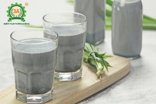 Cách làm sữa đậu xanh mè đen (02)
